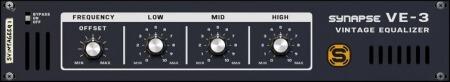 Reason RE Synapse Audio VE-3 Vintage Equalizer