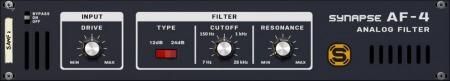 Reason RE Synapse Audio AF-4 Analog Filter