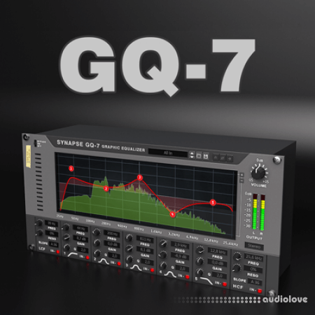Reason RE Synapse Audio GQ-7 Graphic Equalizer