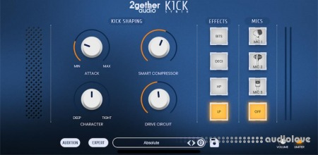 2getheraudio K1CK Synth
