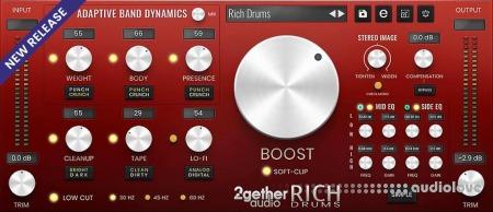 2getheraudio RICH Drums