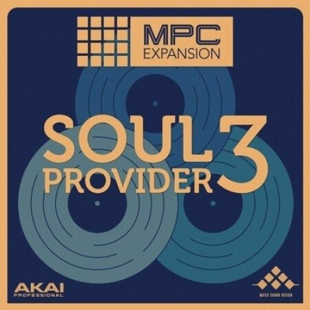 AKAI MPC Software Expansion Soul Provider 3