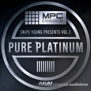 AKAI MPC Software Expansion Snipe Young Presents Vol.1 Pure Platinium