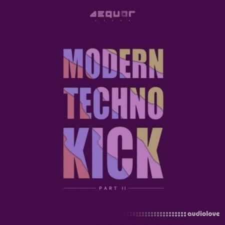 Aequor Sound Modern Techno Kick Part 2