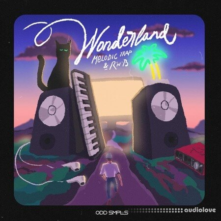 ODD SMPLS Wonderland Melodic Trap and RnB
