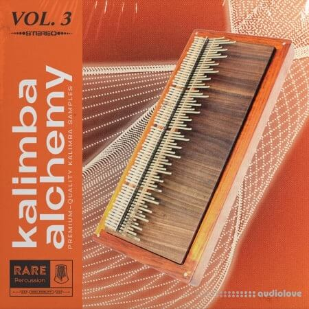RARE Percussion Kalimba Alchemy Volume 3