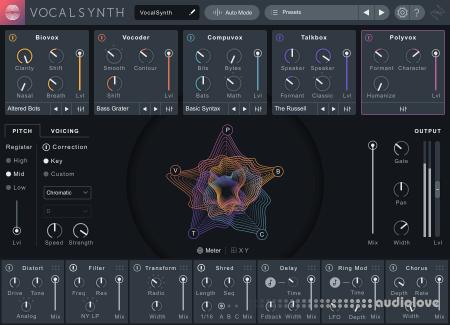 iZotope VocalSynth Pro v2.3.0 CE WiN