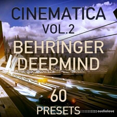 LFO Store Behringer DeepMind 6/12 Cinematica Vol.2 60 Cinematic Presets Synth Presets