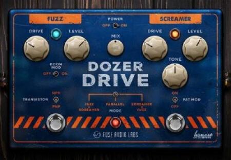 Fuse Audio Labs Dozer Drive v1.0.0 WiN MacOSX