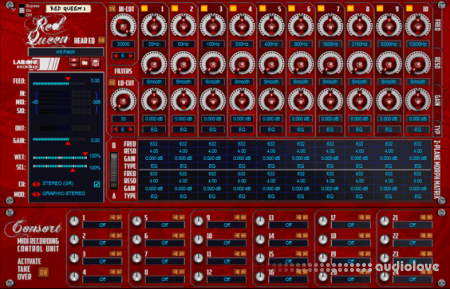 Reason RE Lab One Recordings Red Queen 10 Band 3 Mode Equalizer v0.0.15 WiN