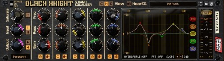 Reason RE Lab One Recordings Black Knight 5 Band Equalizer v2.0.0 WiN