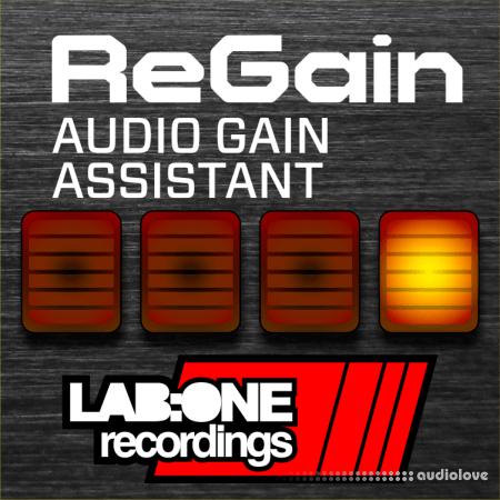 Reason RE Lab One Recordings ReGain Audio Gain Assistant v1.0.0 WiN