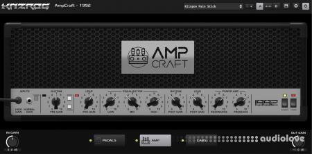 Kazrog AmpCraft 1992 v1.0 RETAiL WiN MacOSX