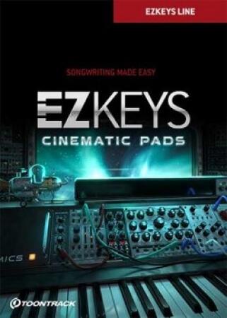 Toontrack EZkeys Cinematic Pads v1.0.0 WiN MacOSX