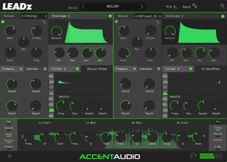 Channel Robot Accent Audio LEADz