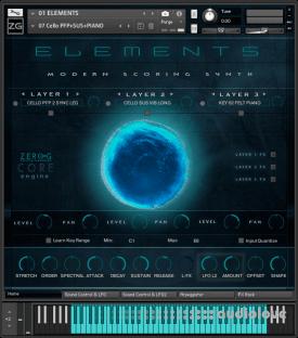 Zero-G Elements Modern Scoring Synth
