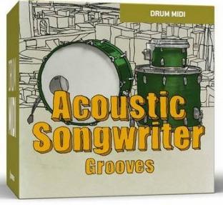 Toontrack Acoustic Songwriter Grooves MIDI Pack