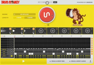 Unison Drum Monkey Factory Library