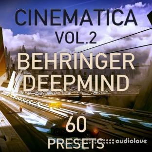 LFO Store Behringer DeepMind 6/12 Cinematica Vol.2 60 Cinematic Presets