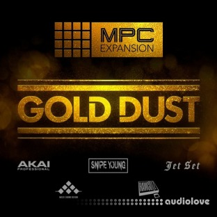 AKAI MPC Software Expansion Gold Dust