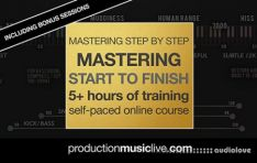 Production Music Live Mastering from Start To Finish