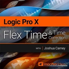 MacProVideo Logic Pro X 302 Flex Time and Time Correction