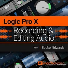 MacProVideo Logic Pro X 102 Recording and Editing Audio