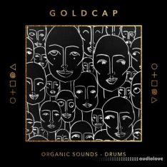 Splice Sounds Goldcap Organic Sounds Drums and Percussion
