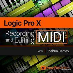 MacProVideo Logic Pro X 103 Recording and Editing MIDI