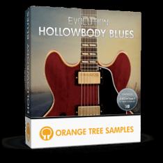 Orange Tree Samples Evolution Hollowbody Blues