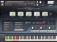 Orchestral Tools Orchestral Strings Run