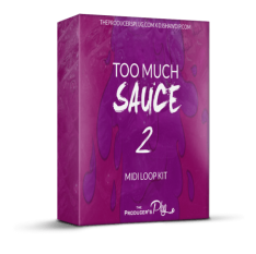 Dj Shawdi P Too Much Sauce Vol.2 (MiDi Kit)