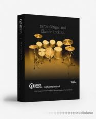 DrumDrops 1970s Slingerland Classic Rock Kit All Samples Pack