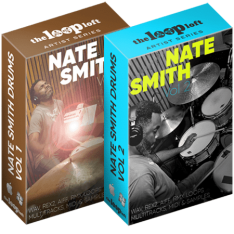The Loop Loft Nate Smith Drum Loops Vol 1 and Vol 2