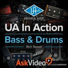 Ask Video Universal Audio 101 UA In Action Bass and Drums