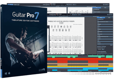 Arobas Music Guitar Pro 7 v7.5.1 Build 1454 Multilingual / v7.0.6 Build 810 WiN MacOSX
