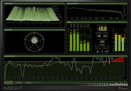 iZotope Insight v1.05 / v1.05c WiN MacOSX