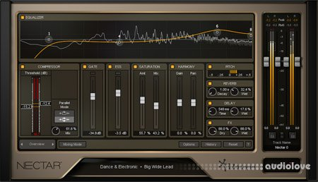 iZotope Nectar 2 Production Suite v2.04 / v2.04a WiN MacOSX