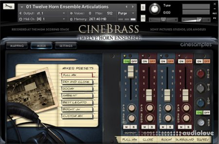 Cinesamples CineBrass Twelve Horn Ensemble