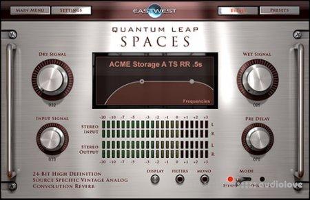 East West Quantum Leap Spaces Impulse Response Library