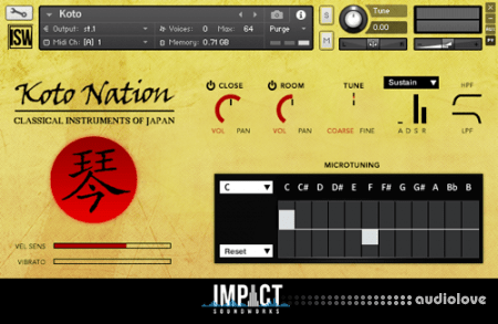 Impact Soundworks Koto Nation 2 v2.0 KONTAKT ReFill