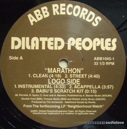 Dilated Peoples Marathon Acapella ViNYL RiP free download
