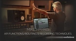 Pro Studio Live Mike Harris API Functions-Routing and Recording Techniques