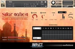 Impact Soundworks Sitar Nation 2