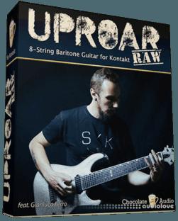 Chocolate Audio Uproar RAW 8-String Baritone Guitar