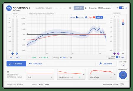 Sonarworks Reference Plugins