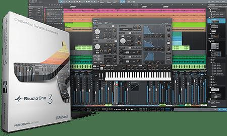 PreSonus Studio One 3 Professional v3.5.6 WiN MacOSX