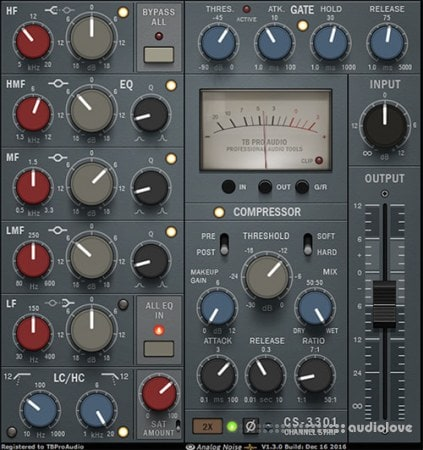 TBProAudio CS-3301 v1.5.0 CE / v1.2.2 WiN MacOSX