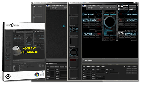 Rigid Audio KONTAKT GUI Maker v2 BETA WiN MacOSX