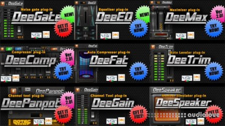 Dotec-Audio Plugins Bundle v2018.05 WiN